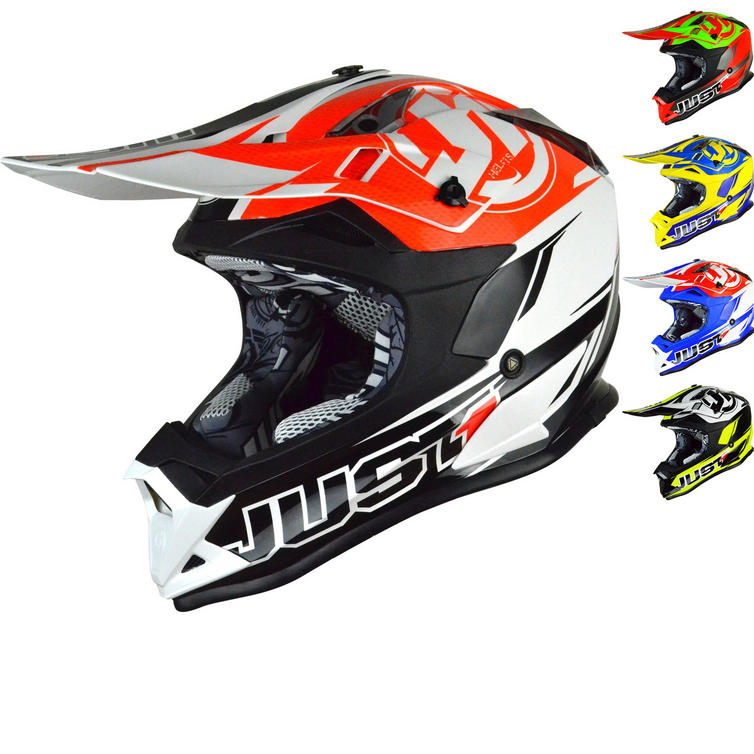 Just1 J32 Pro Rave Motocross Helmet
