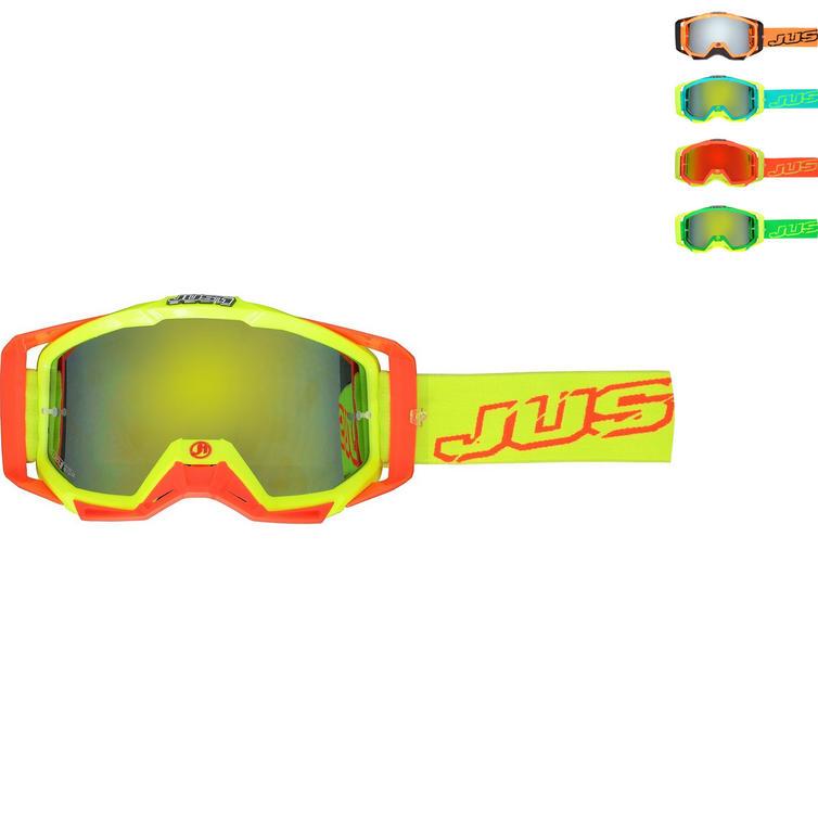 Just1 Iris Neon Motocross Goggles
