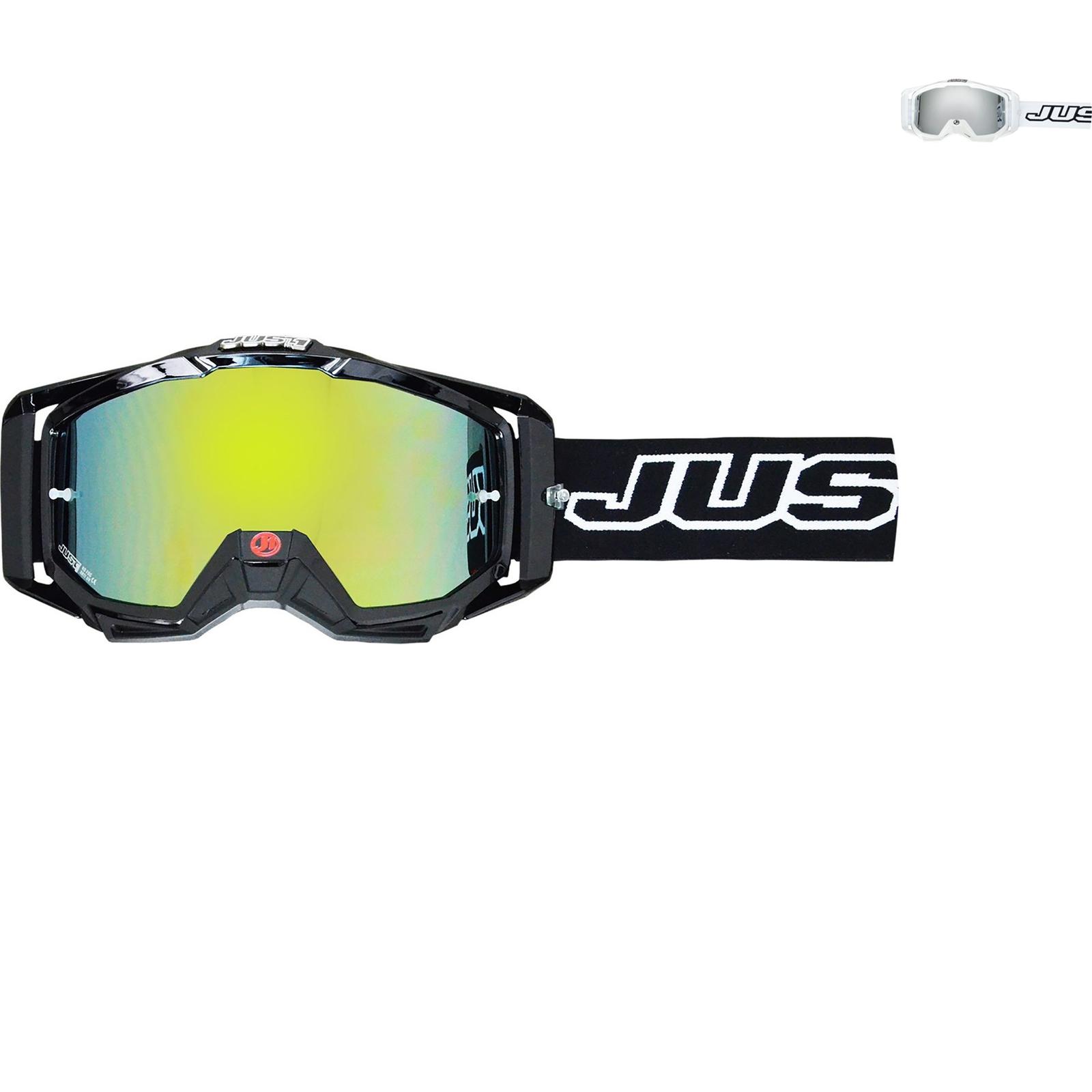 0a2a6cdbbf8e Just1 Iris Solid Motocross Goggles Enduro Dirt Bike Eyewear Anti ...