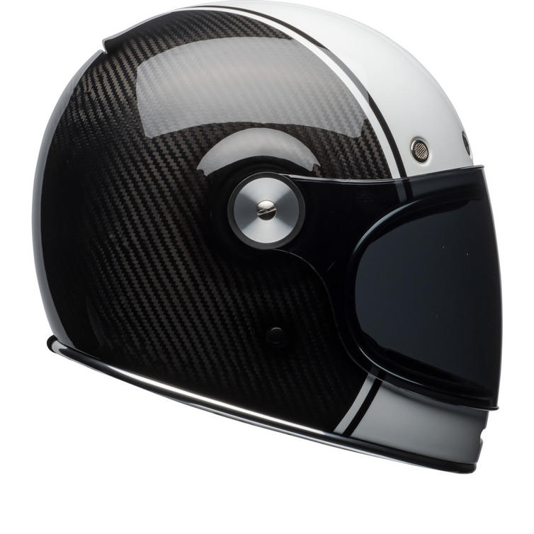 Bell Bullitt Carbon Pierce Motorcycle Helmet