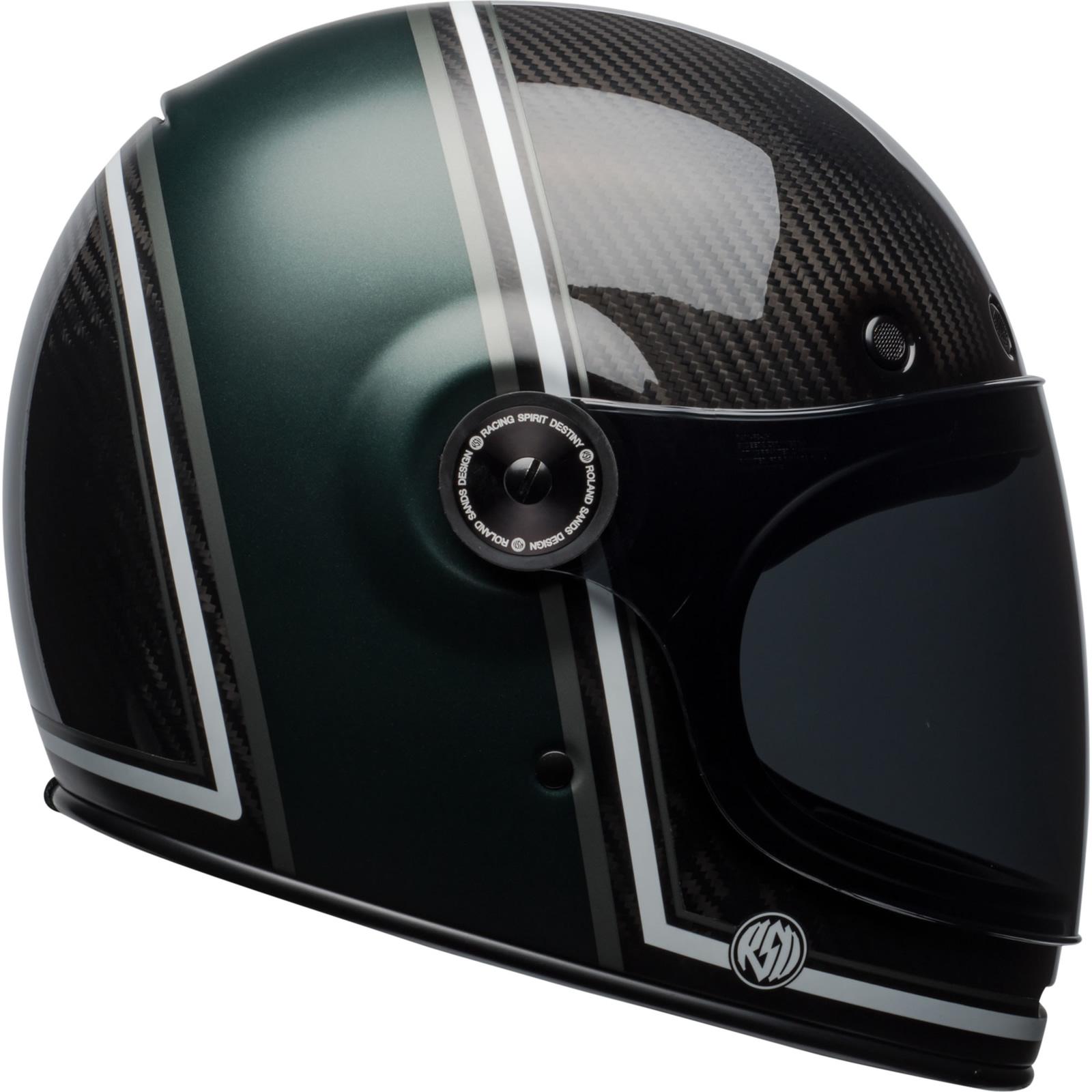 0615c7aa Bell Bullitt Carbon RSD Range Motorcycle Helmet & Visor Motorbike ...