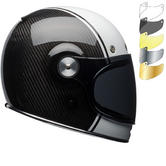 Bell Bullitt Carbon Pierce Motorcycle Helmet & Visor