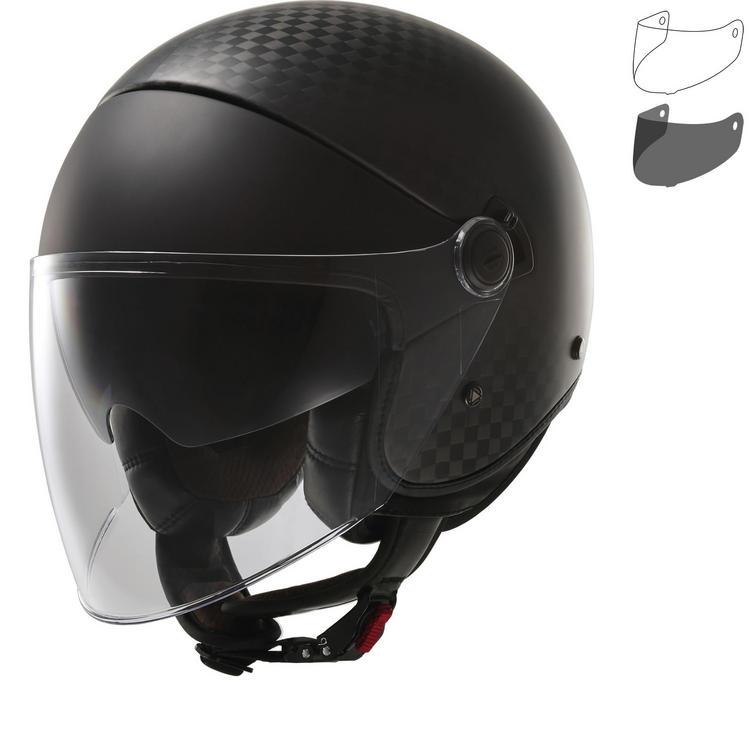 LS2 OF597 Cabrio Open Face Motorcycle Helmet & Visor