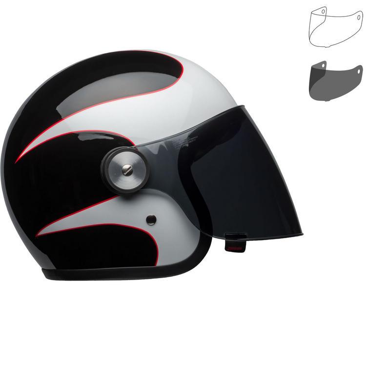 Bell Riot Boost Open Face Motorcycle Helmet & Visor