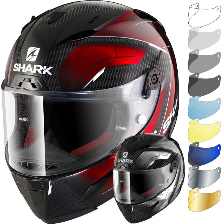 Shark Race-R Pro Carbon Deager Motorcycle Helmet & Visor