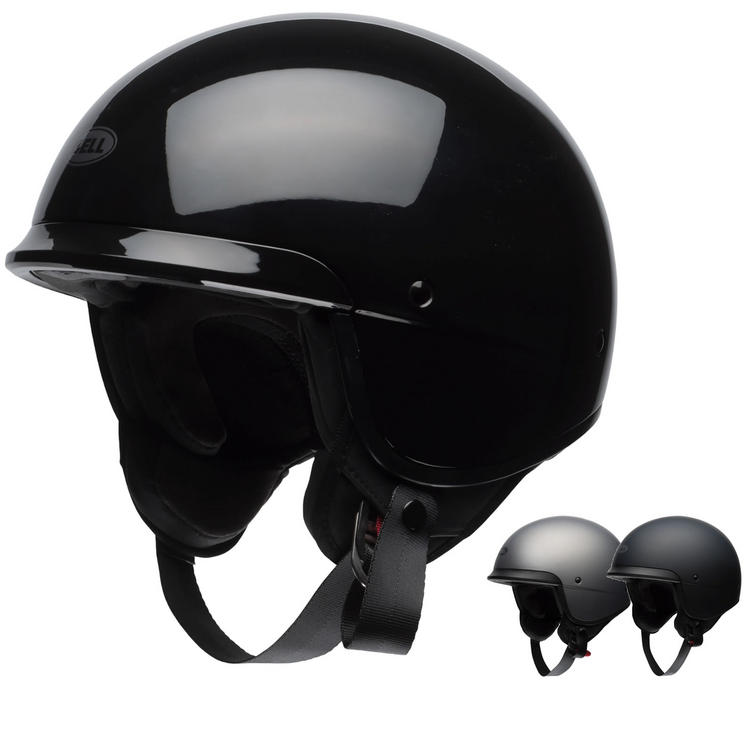 Bell Scout Air Solid Open Face Motorcycle Helmet
