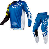 Fox Racing 180 Race Motocross Jersey & Pants Blue Kit
