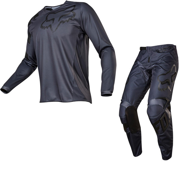 Fox Racing 180 Sabbath Motocross Jersey & Pants Black Kit