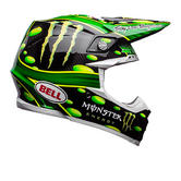 Bell Moto-9 Flex Monster McGrath Motocross Helmet