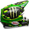Bell Moto-9 Flex Monster McGrath Motocross Helmet Thumbnail 10