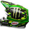 Bell Moto-9 Flex Monster McGrath Motocross Helmet Thumbnail 11