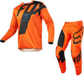 Fox Racing Youth 180 Mastar Motocross Jersey & Pants Orange Kit