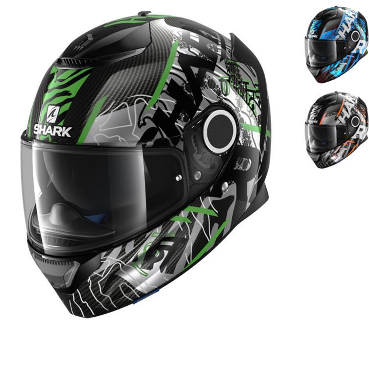 Shark Spartan Carbon Daksha Motorcycle Helmet