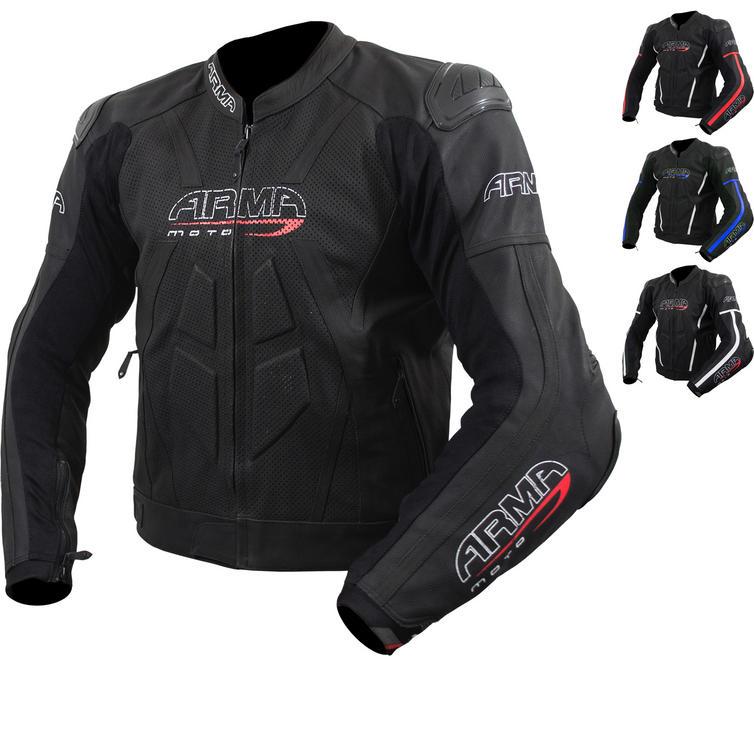 ARMR Moto Raiden 2 Leather Motorcycle Jacket