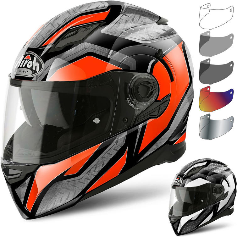 Airoh Movement S Steel Motorcycle Helmet & Visor