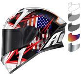 Airoh Valor Sam Motorcycle Helmet & Visor