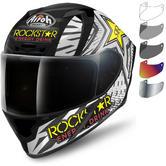 Airoh Valor Rockstar Motorcycle Helmet & Visor