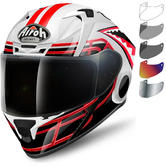 Airoh Valor Touchdown Motorcycle Helmet & Visor