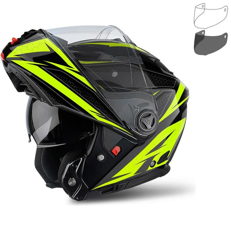 Airoh Phantom S Evolve Flip Front Motorcycle Helmet & Visor