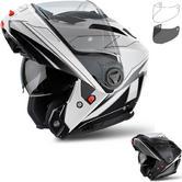 Airoh Phantom S Spirit Flip Front Motorcycle Helmet & Visor