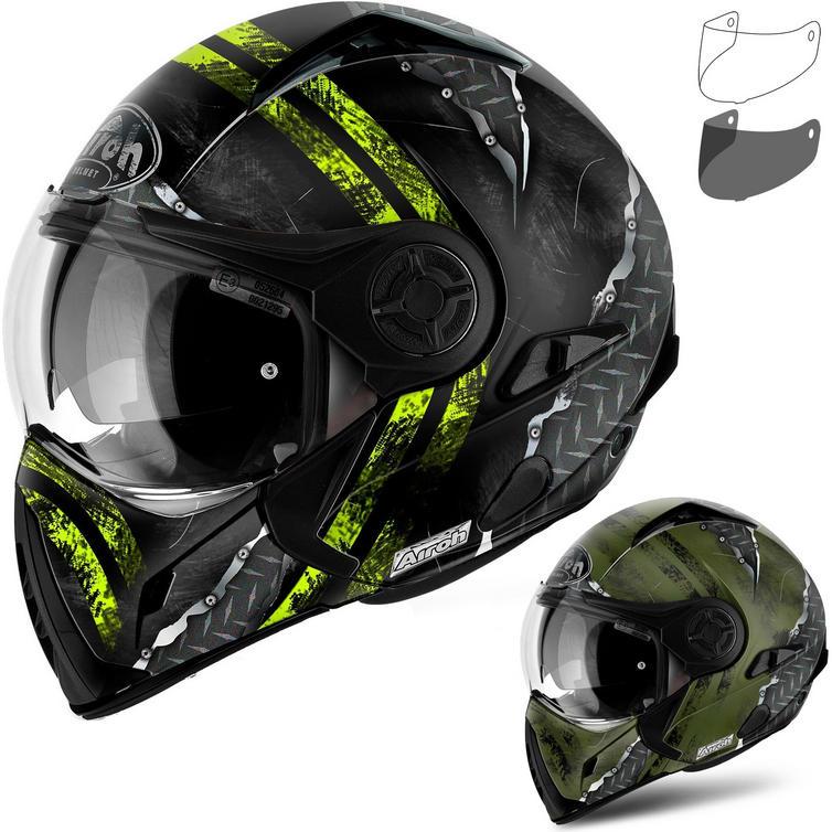 Airoh J 106 Crude Convertible Motorcycle Helmet & Visor