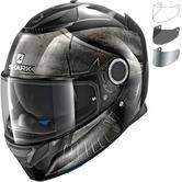Shark Spartan Hoplite Motorcycle Helmet & Visor