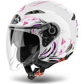 Airoh City One Heart Open Face Motorcycle Helmet
