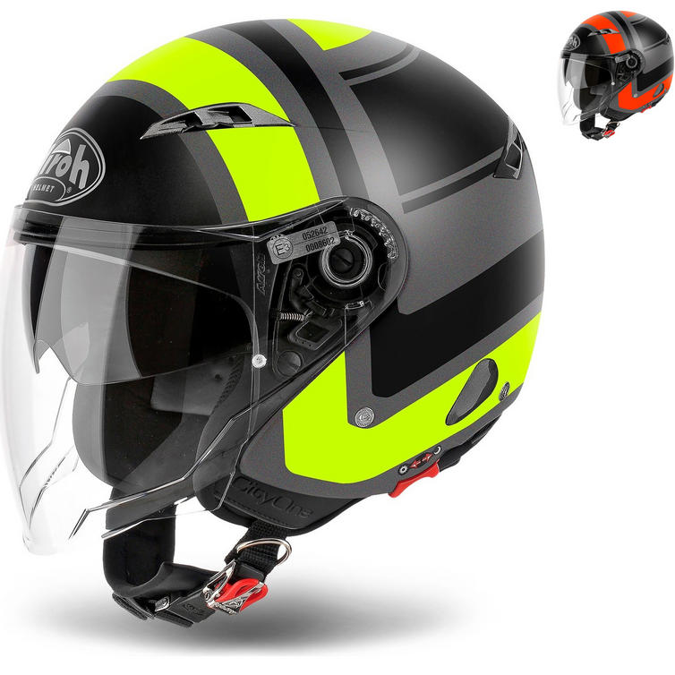 Airoh City One Wrap Open Face Motorcycle Helmet