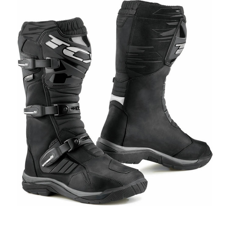 TCX Baja Gore-Tex Leather Motorcycle Boots
