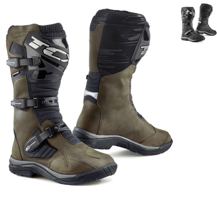 TCX Baja Waterproof Leather Motorcycle Boots