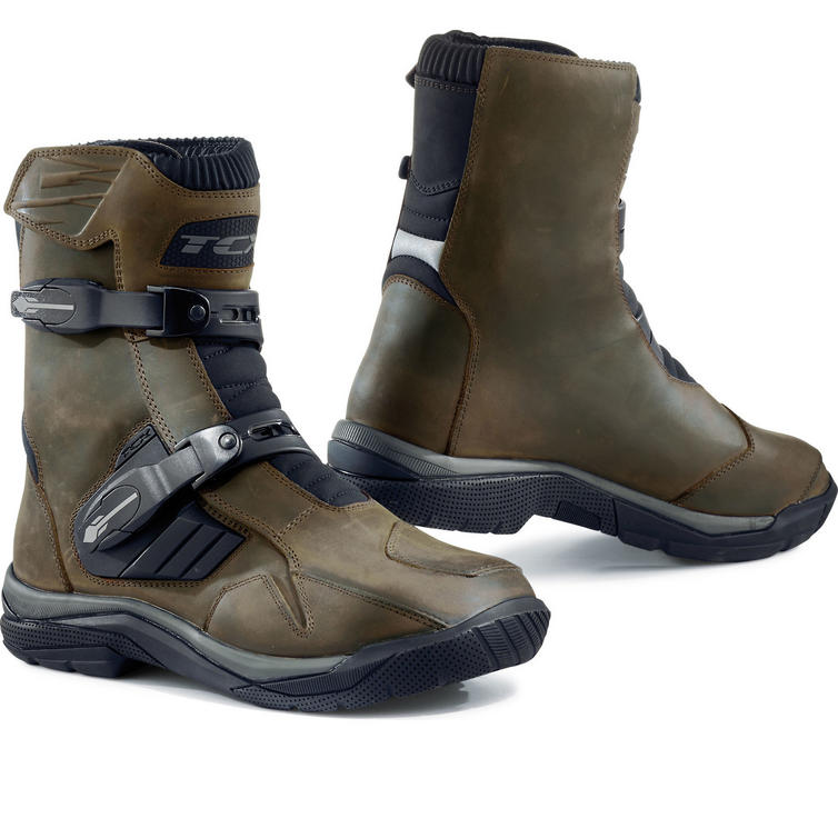 TCX Baja Mid Waterproof Leather Motorcycle Boots