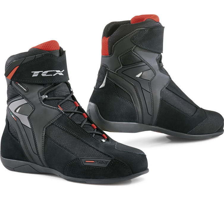 TCX Vibe Waterproof Leather Motorcycle Boots