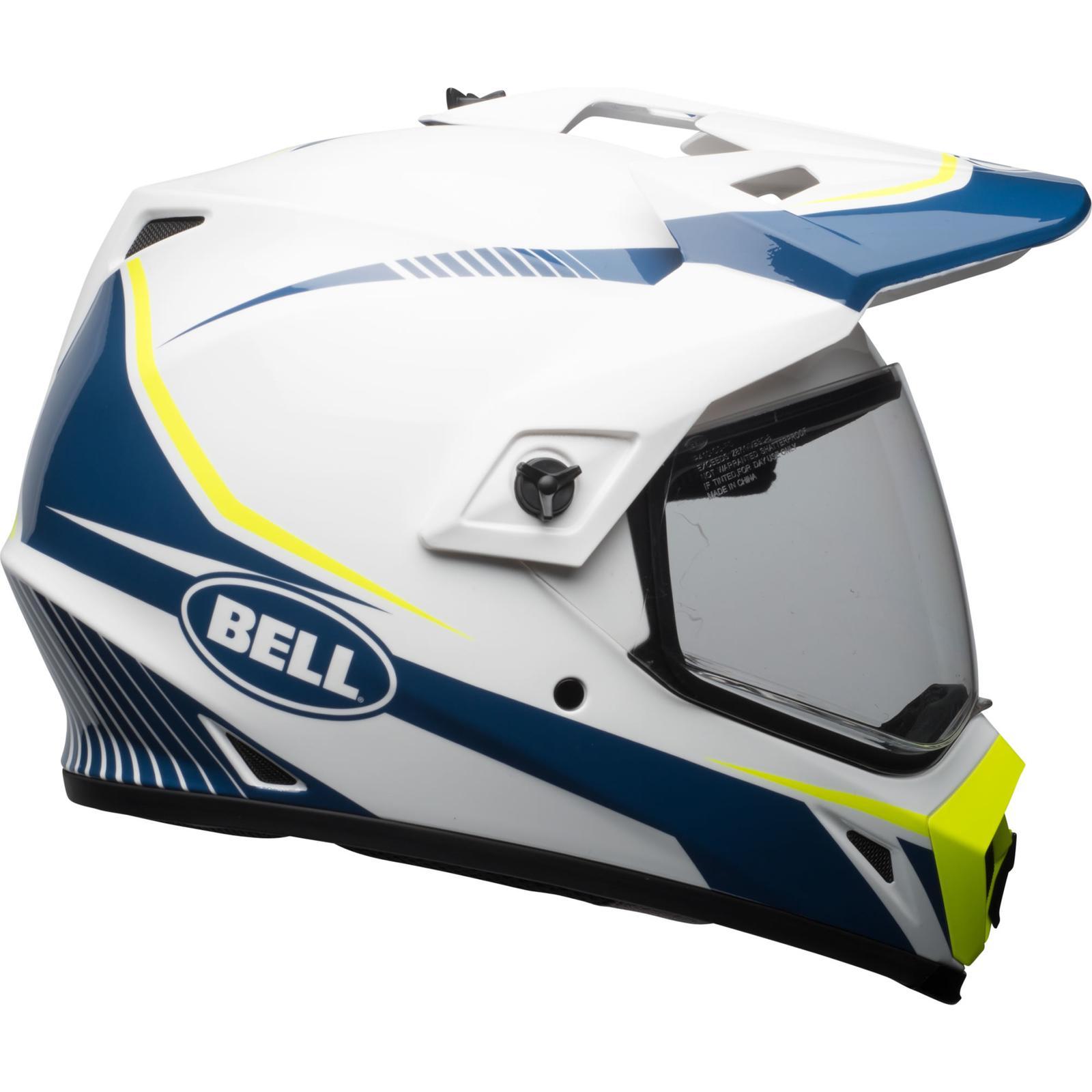 Bell Dual Sport Helmet >> Bell Mx 9 Adventure Mips Torch Dual Sport Helmet Visor Off Road