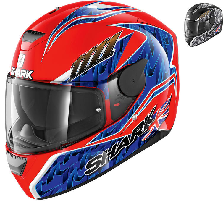 Shark D-Skwal Fogarty Motorcycle Helmet