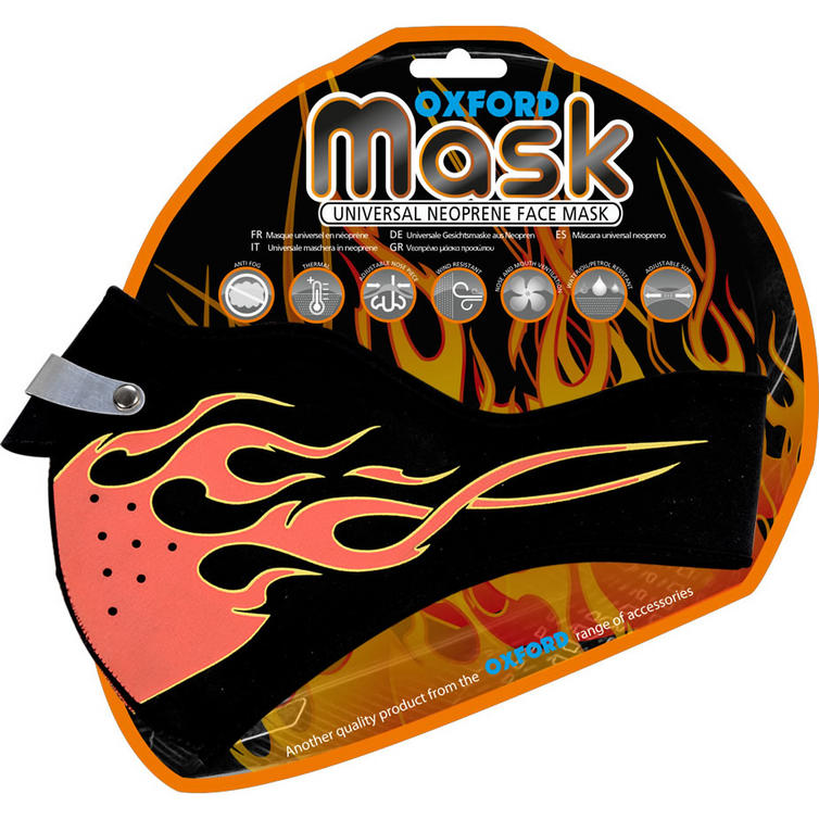 Oxford Neoprene Flame Face Mask