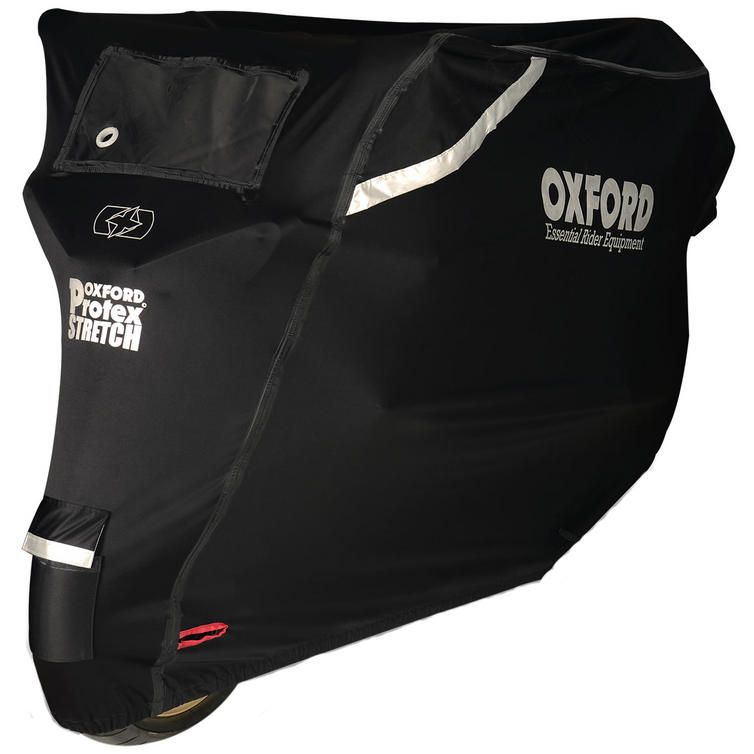 Oxford Protex Stretch-Fit Outdoor Motorcycle Cover (Small)
