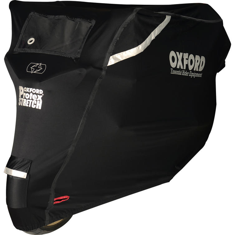 Oxford Protex Stretch-Fit Outdoor Motorcycle Cover (Medium)