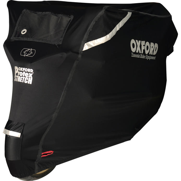 Oxford Protex Stretch-Fit Outdoor Motorcycle Cover (Large)