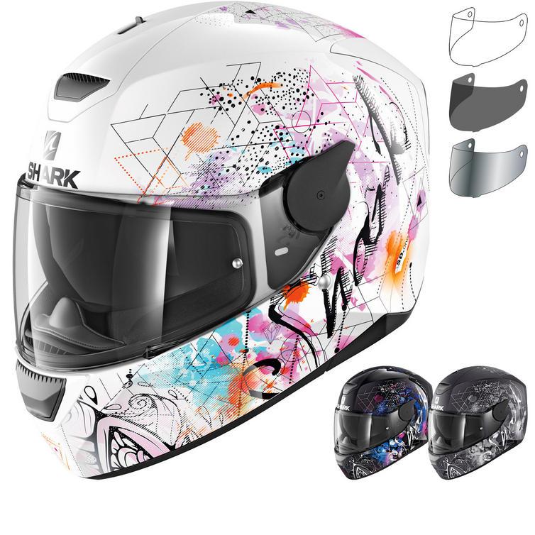 Shark D-Skwal Anyah Motorcycle Helmet & Visor
