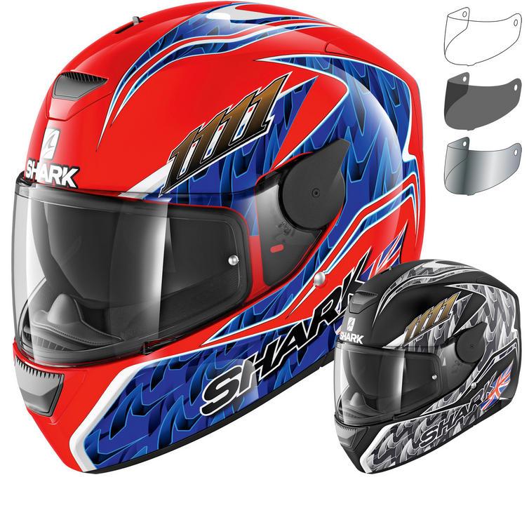 Shark D-Skwal Fogarty Motorcycle Helmet & Visor