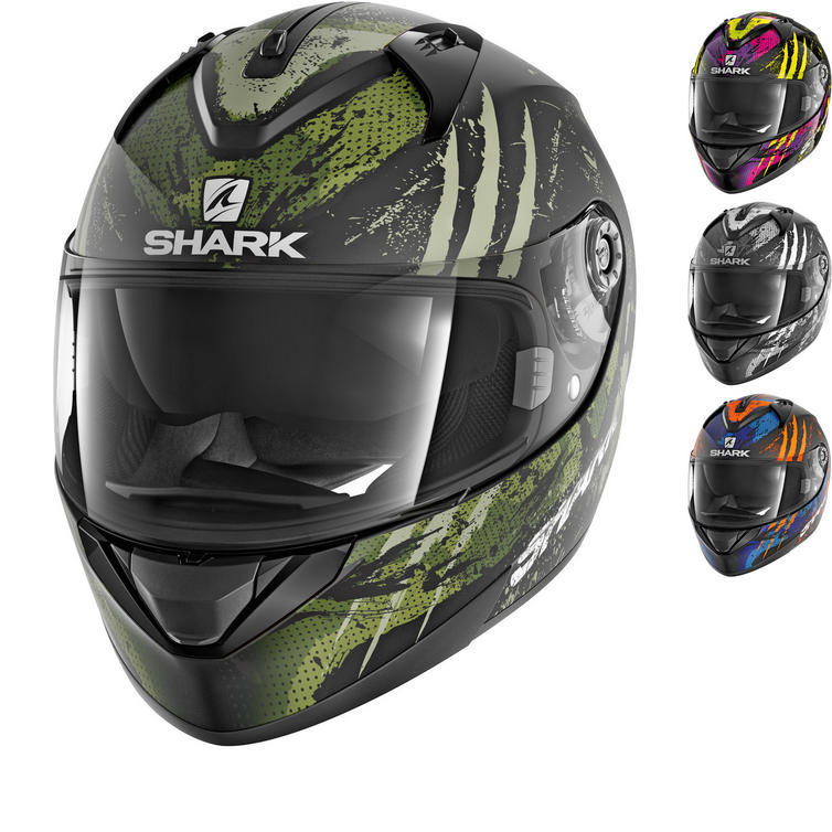 Shark Ridill Threezy Motorcycle Helmet