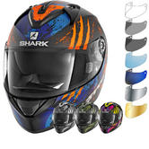 Shark Ridill Threezy Motorcycle Helmet & Visor