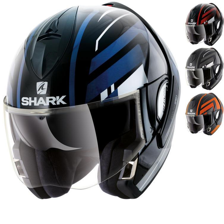 Shark Evoline S3 Corvus Flip Front Motorcycle Helmet