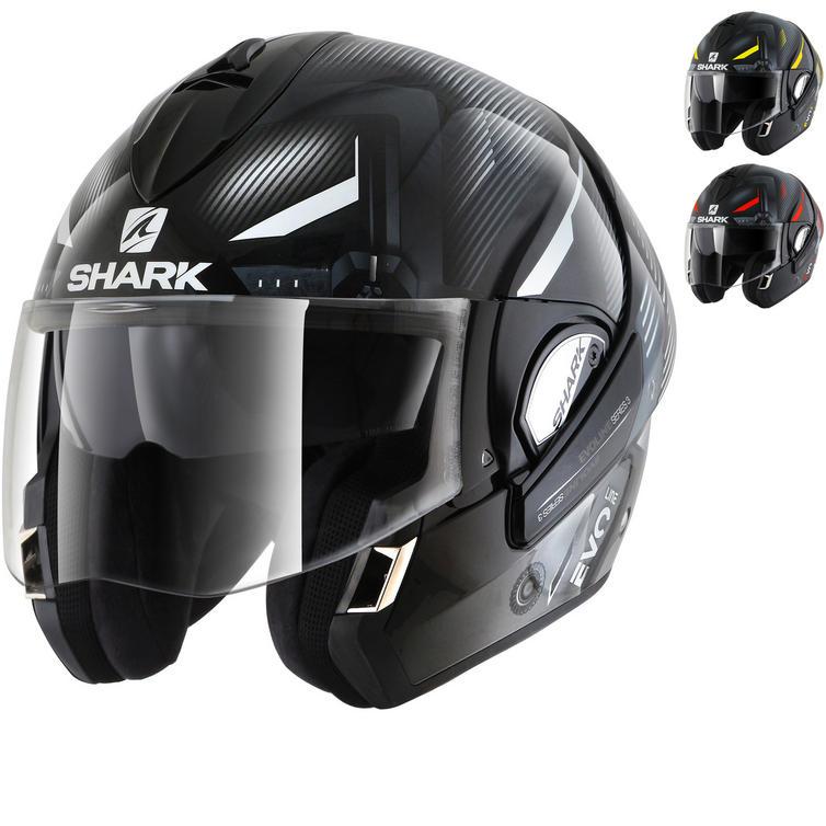 Shark Evoline S3 Shazer Flip Front Motorcycle Helmet