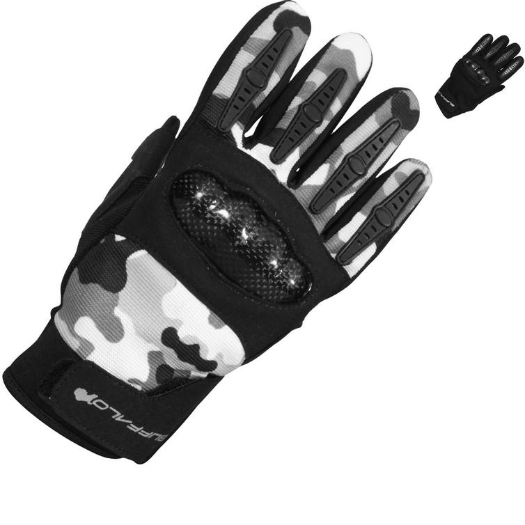 Buffalo Racer Youth Motorcycle Gloves