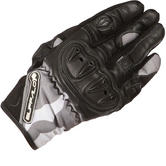 Buffalo Camo Leather Motorcycle Gloves