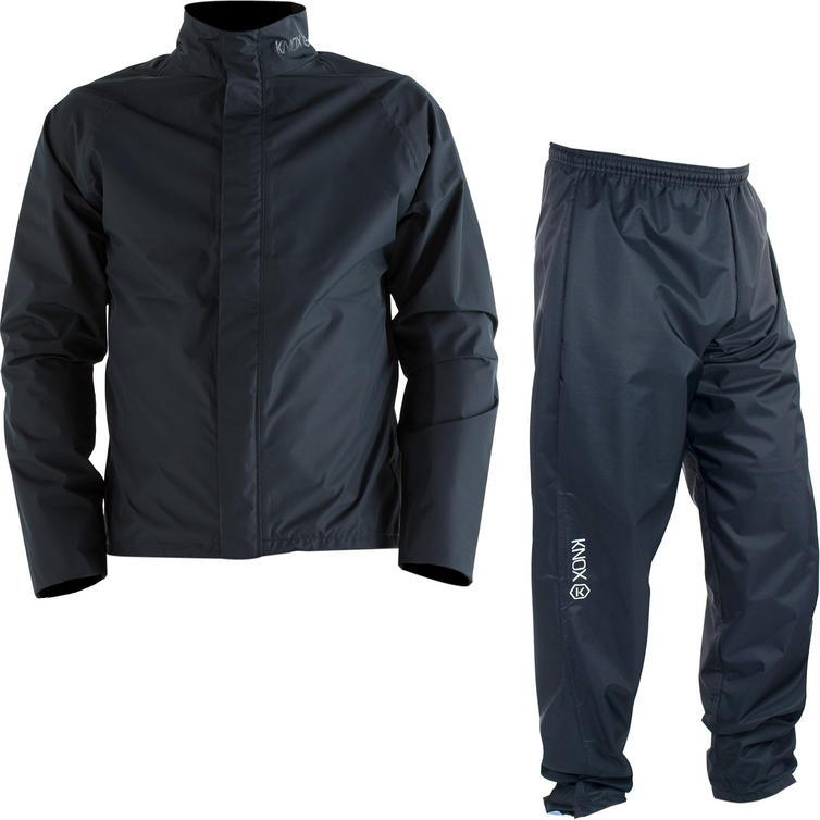 Knox Zephyr Over Jacket & Trousers Black Kit