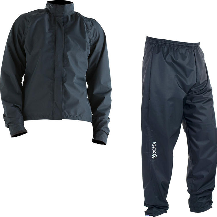 Knox Zephyr Ladies Over Jacket & Trousers Black Kit