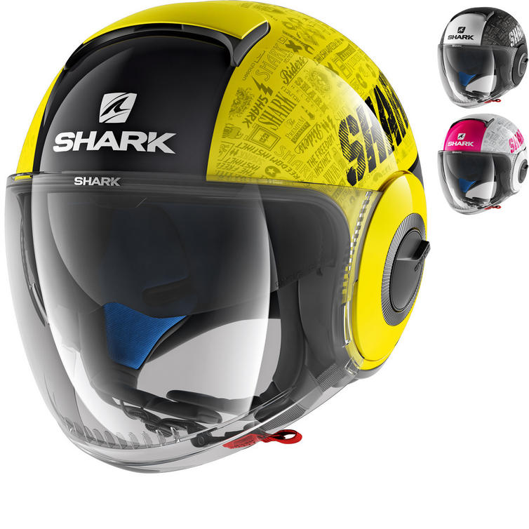 Shark Nano Tribute RM Open Face Motorcycle Helmet