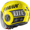 Shark Nano Tribute RM Open Face Motorcycle Helmet & Visor Thumbnail 10
